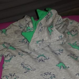 Carter's 1pc Dinosaur pajamas